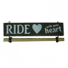 MEDAL HANGER - Ride with your heart