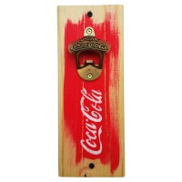 COKE BOTTLE OPENER - Red