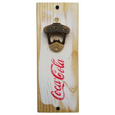 COKE BOTTLE OPENER - White