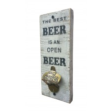 "BOTTLE OPENER - ""Best Beer"" - White"