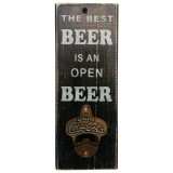 "BOTTLE OPENER - ""Best Beer"" - Black"