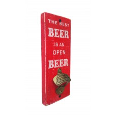 "BOTTLE OPENER - ""Best Beer"" - Red"