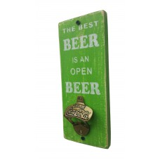 "BOTTLE OPENER - ""Best Beer"" - Green"