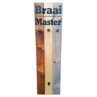 """BRAAI SET HOLDER - """"Braai Master"""""""