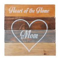 "WALL SIGN - ""Mom"" - Mixed Colours"