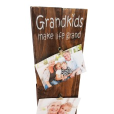 "PHOTO CLIP BOARD - ""Grandkids"""