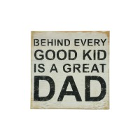 "WALL SIGN - ""Behind Every Kid"""