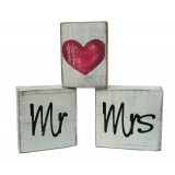 MR & MRS STACKING BLOCKS