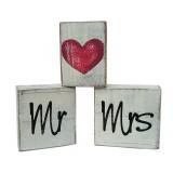 MR & MRS STACKING BLOCKS