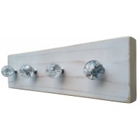 CRYSTAL JEWELLERY HANGER - White