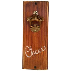 "BOTTLE OPENER - ""Cheers"" Stain"