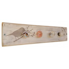 BIRD JEWELLERY HANGER - White